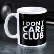 Кружка «I don't care club». 300 мл